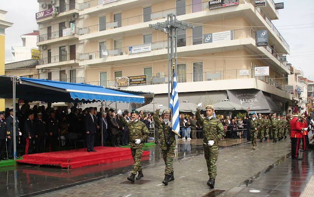 Οι έφεδροι της Πελοποννήσου παρέλασαν στην Τρίπολη