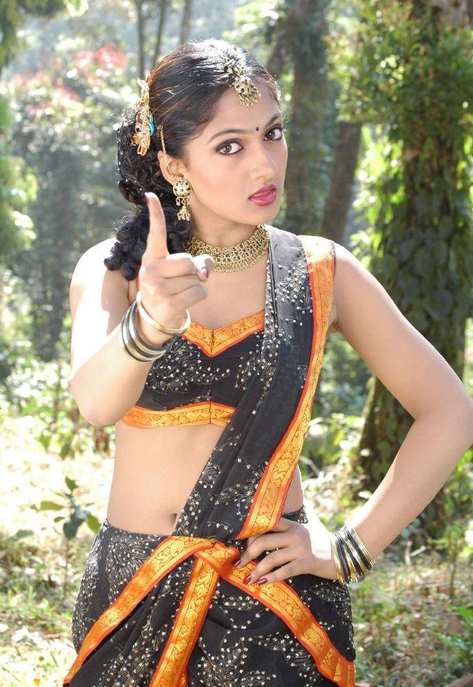 Telugu Film Actress Sheela Latest Hot Images On Black -4840