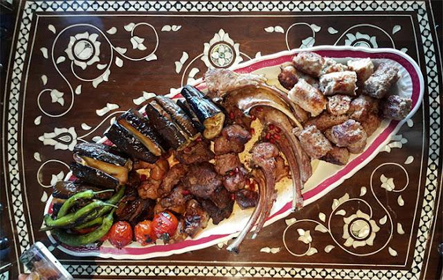 Karışık Kebab