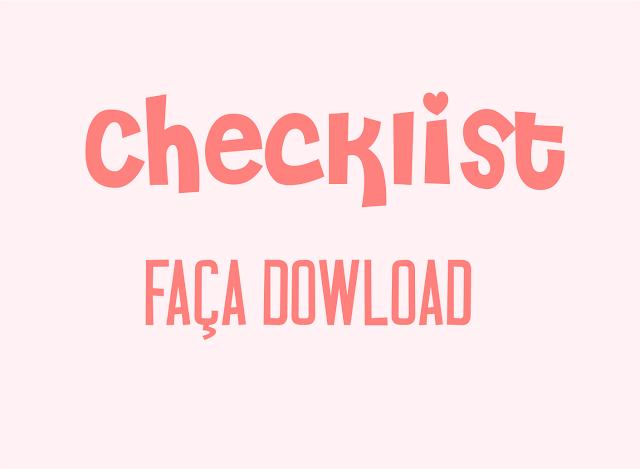 Dowload checklist casamento - Blog Café de Noiva