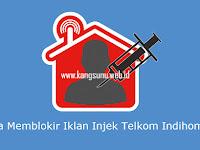 Cara Memblokir Iklan Inject Telkom Speedy Indihome