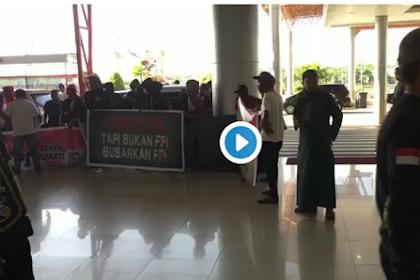 Innalillaahi, Dipersekusi di Bandara Tarakan, Begini Komentar Tegas Waketum FPI