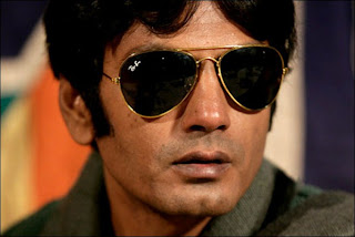 Nawazuddin Siddiqui as Faisal Khan in Gangs of Wasseypur, directed by Anurag Kashyap