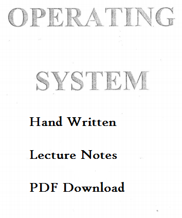 Computer Lecture Notes Pdf
