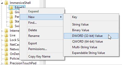 Hướng dẫn tắt hay vô hiệu hóa Charm Bar trên Windows 8.1