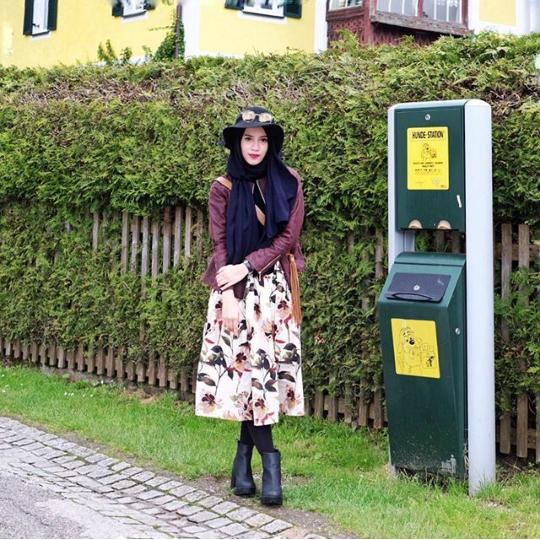 Outfit Vintage Hijab