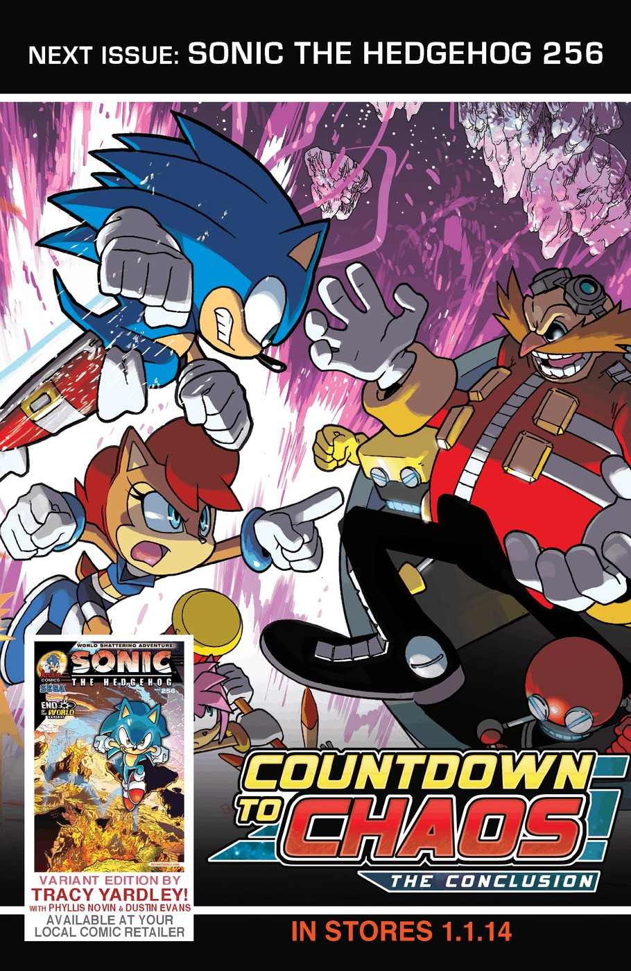 Read online Sonic The Hedgehog comic -  Issue #255 - 26