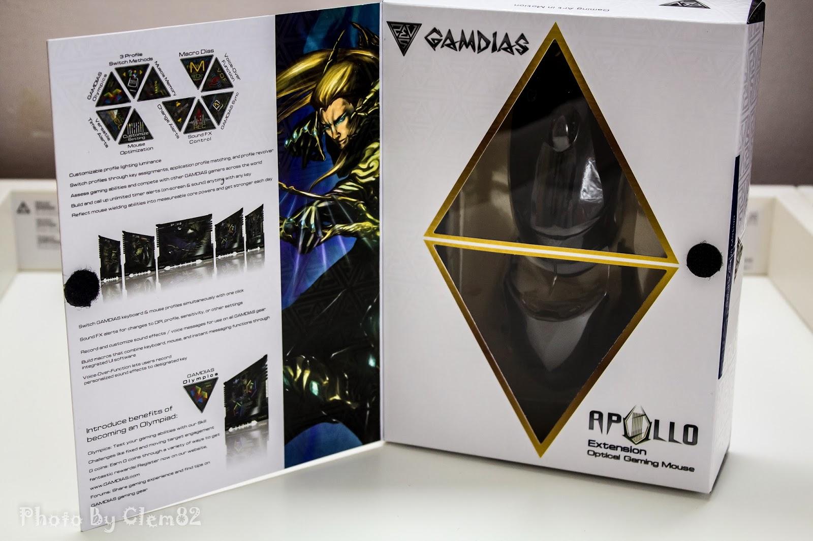 Gamdias Apollo Extension Optical Gaming Mouse 57