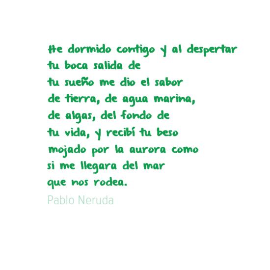 NERUDA - DORMIDO