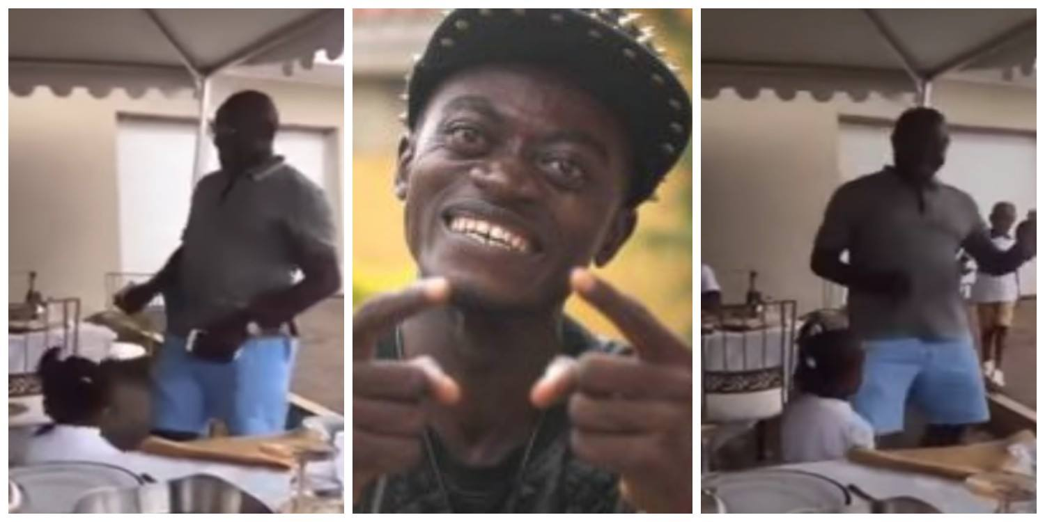 Checkout VIDEO of Kennedy Agyapong & Daughter Dancing Crazily To Lilwin's 'Mama Boss Papa'