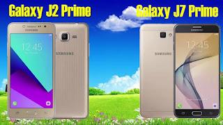 hp samsung galaxy J2 prime dan J7prime