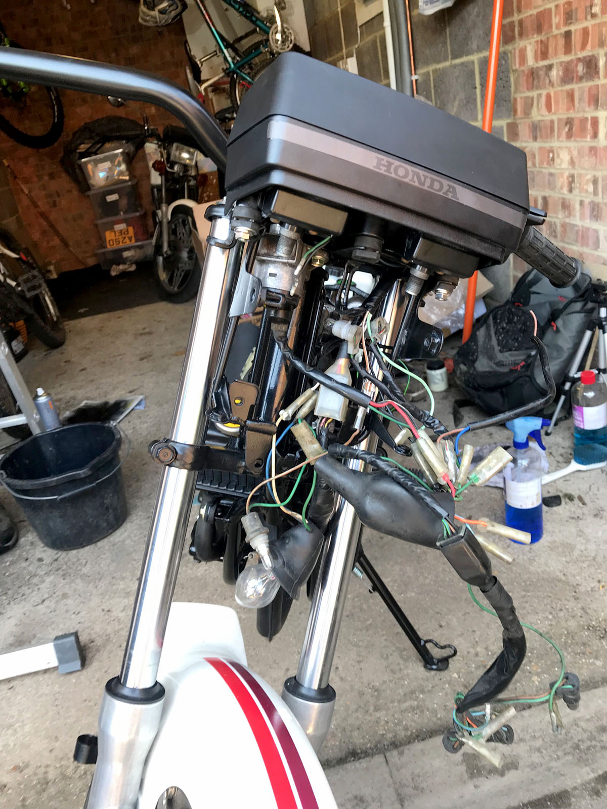 Honda Mbx80 Mt 50 Wiring Diagram Clocks Frame And Handle Bar On Now Where Was The