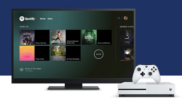 Spotify app for Xbox One is here