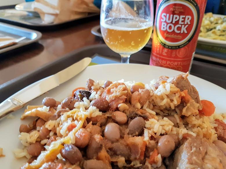 午餐-豆肉飯