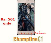 ChampOne C1 Smartphone for Rs. 501 Only