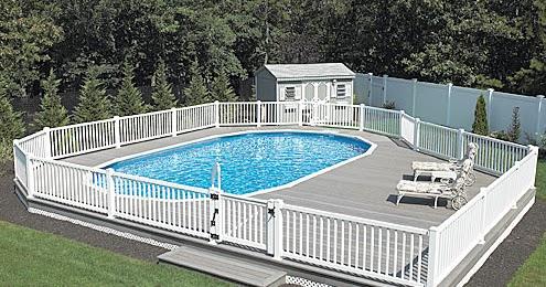 Sprinkler Juice Above Ground Pool Deck Plans What You