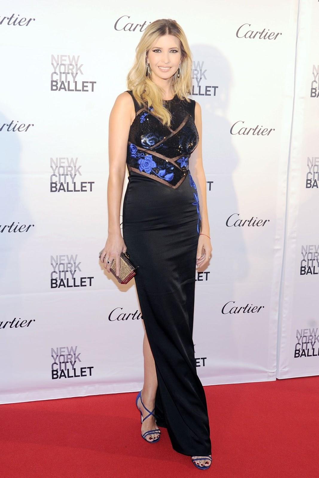 NYCB HQ Photos: Ivanka Trump at 2015 New York City Ballet Fall Gala in New York