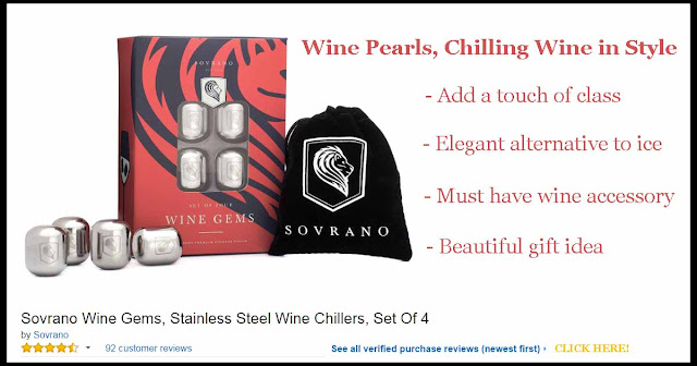 Wine Pearls, chilling wine in style!