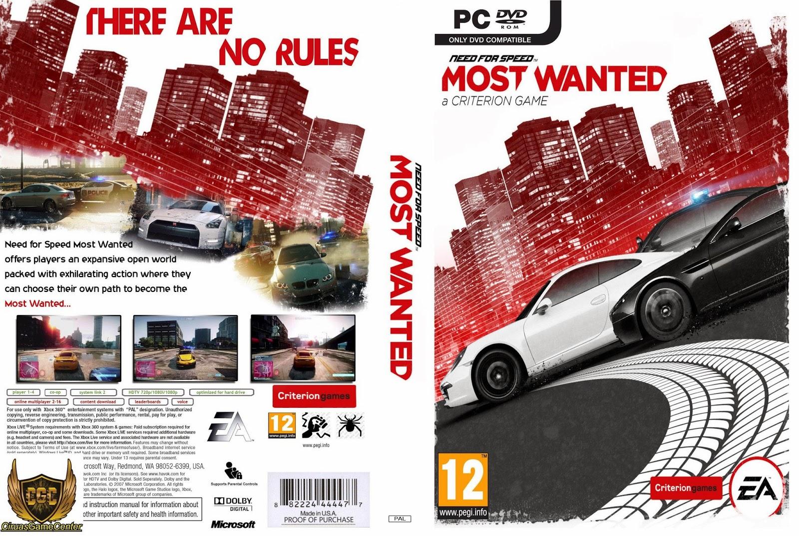 Появилась возможность делать скриншоты; Игра Need for Speed Most Wanted Black Edition 2005 получила улучшенную графику; Открытый мир позволяет свободно перемещаться по городским улицам; Можно модернизировать узлы - улучшать двигатель, подвеску, трансмиссию, рулевое...