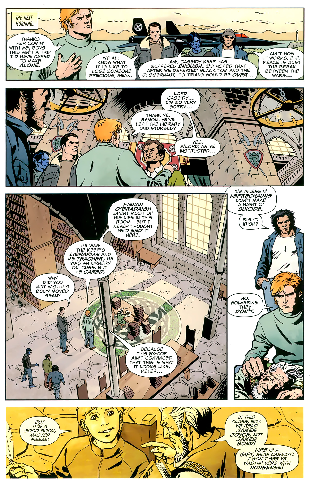 Read online Uncanny X-Men: First Class comic -  Issue #8 - 3