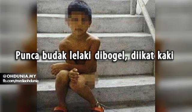 Punca Sebenar Budak Lelaki DiBogel, Diikat Kaki Cetus Kemarahan Netizen!