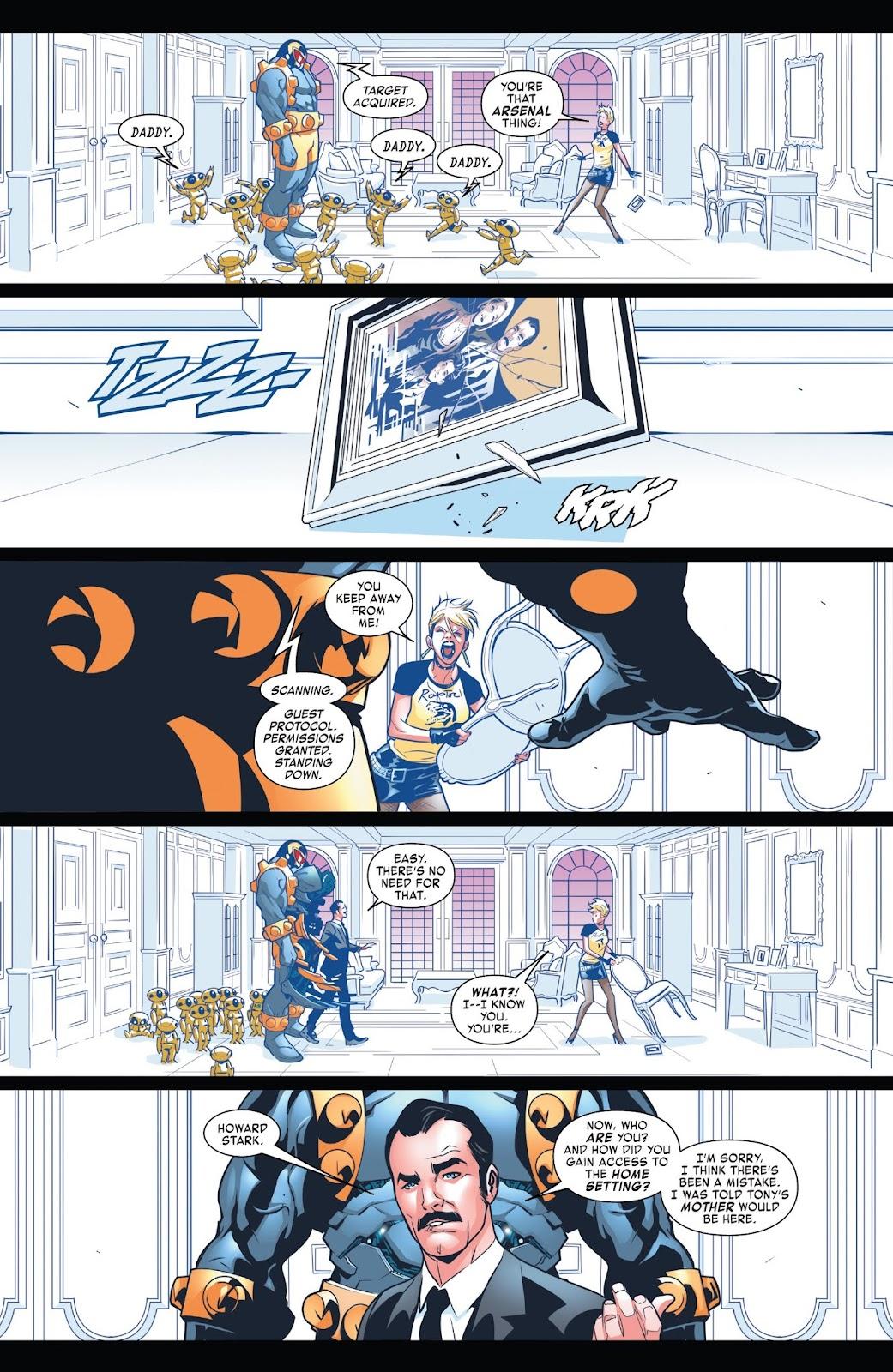 Read online Tony Stark: Iron Man comic -  Issue #7 - 9