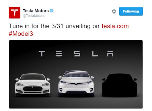 The Tesla Model 3 Unveiling Event