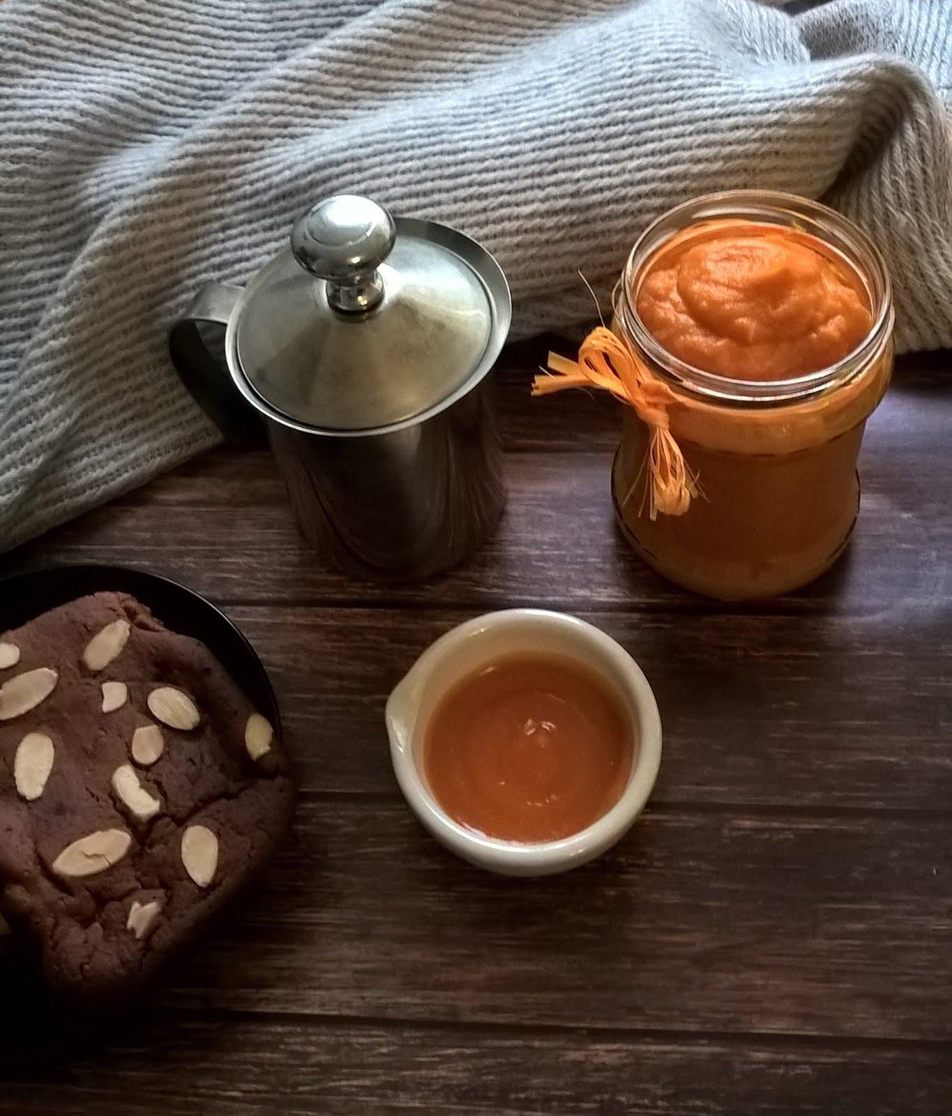 Wegańskie muffinkowe ciasto dyniowe przepis blog