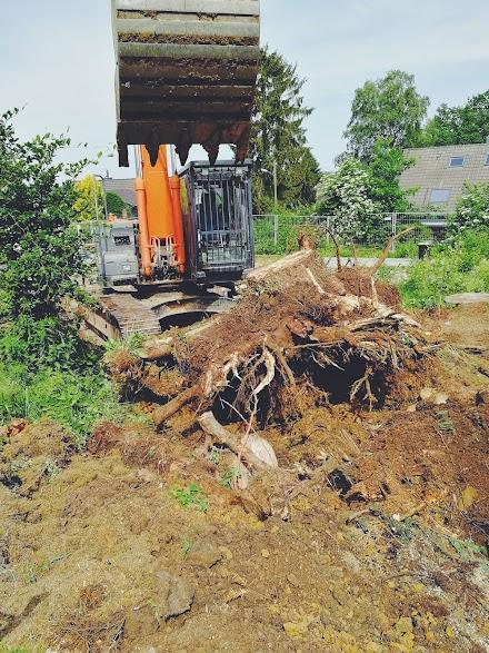 Der Garten wird nun vorbereitet für den SABO MOWiT | WIR MACHEN DEN GARTEN FIT FÜR DIE WM - TEIL 2