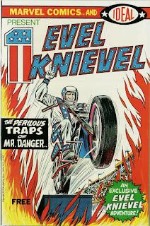 Evel Knievel Vol 1 1 - Um herói de carne e muitos ossos (quebrados)
