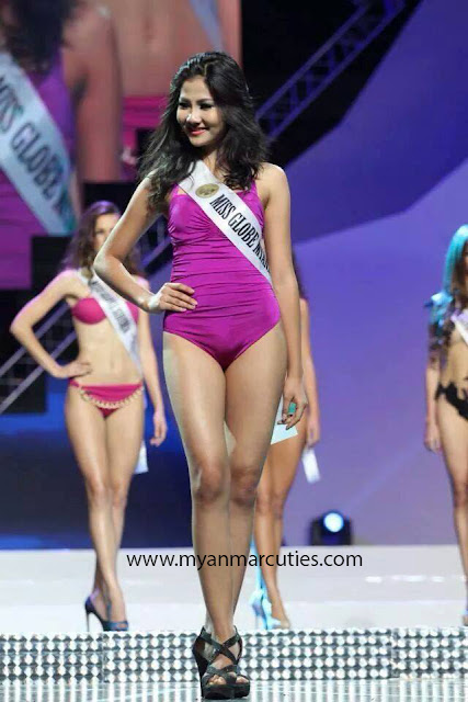 Miss Globe Myanmar 2014 Aye Chan Myae