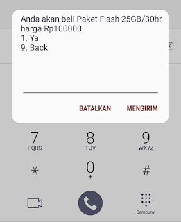 Paket Murah Telkomsel  Flash 25 GB Surprise Deal