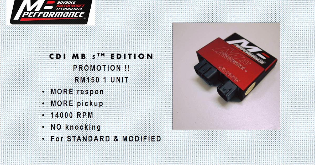Max Rpm Cdi Original Lc135