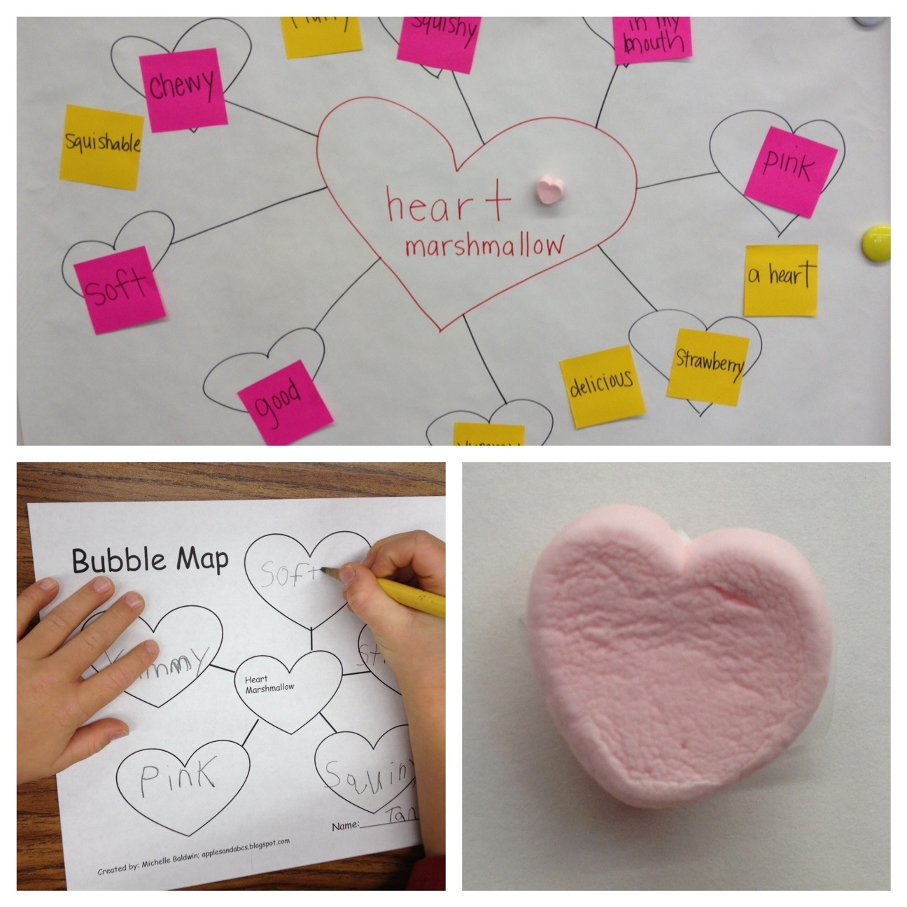 Marshmallow Heart Adjectives