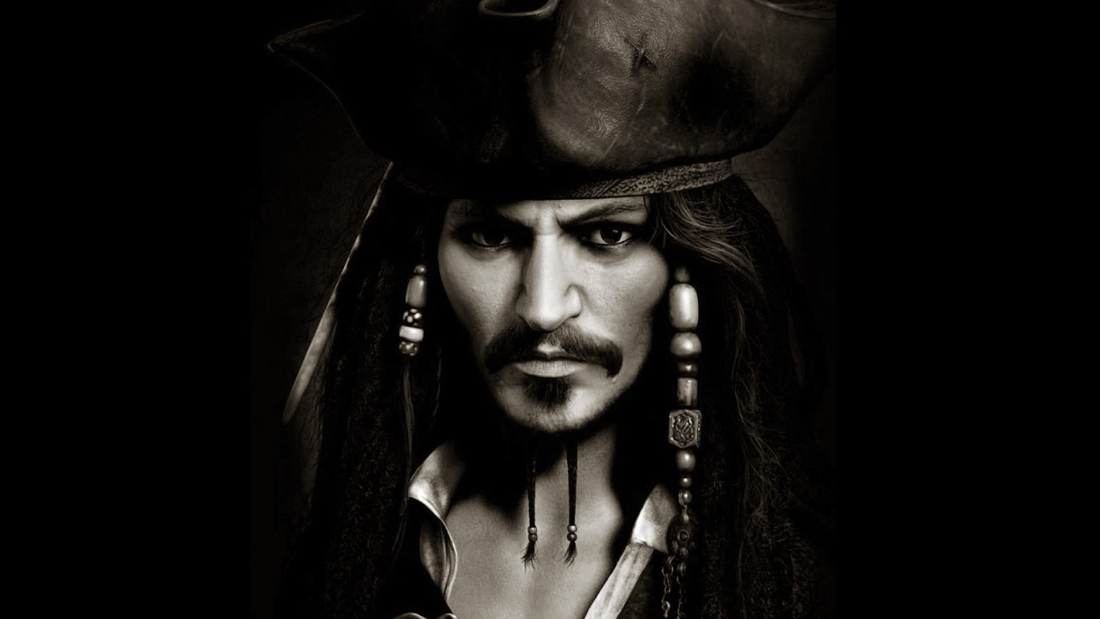 Pirates Of The Caribbean 3d Wallpapers Johnny Deep Hd Wallpapers
