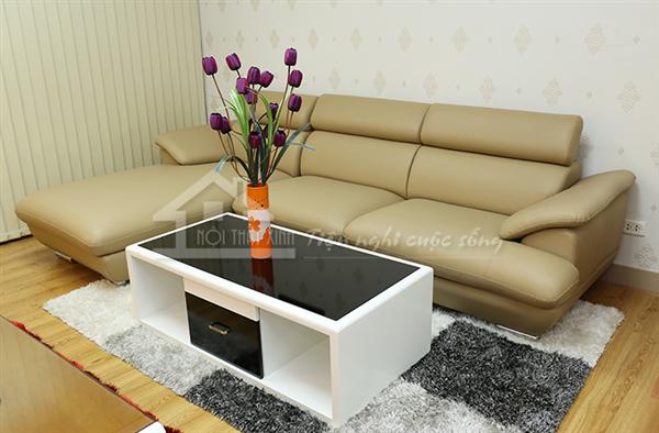 Ghế sofa kết hợp cùng thảm trải sàn đẹp