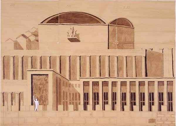 Roma archivi e dintorni l expo immaginato roma 39 42 e - Architetto palazzo congressi roma ...