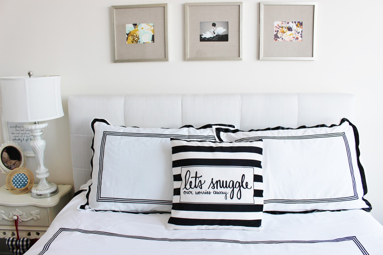 bijuleni- Bedroom decor and Dayna Lee Collection pillow