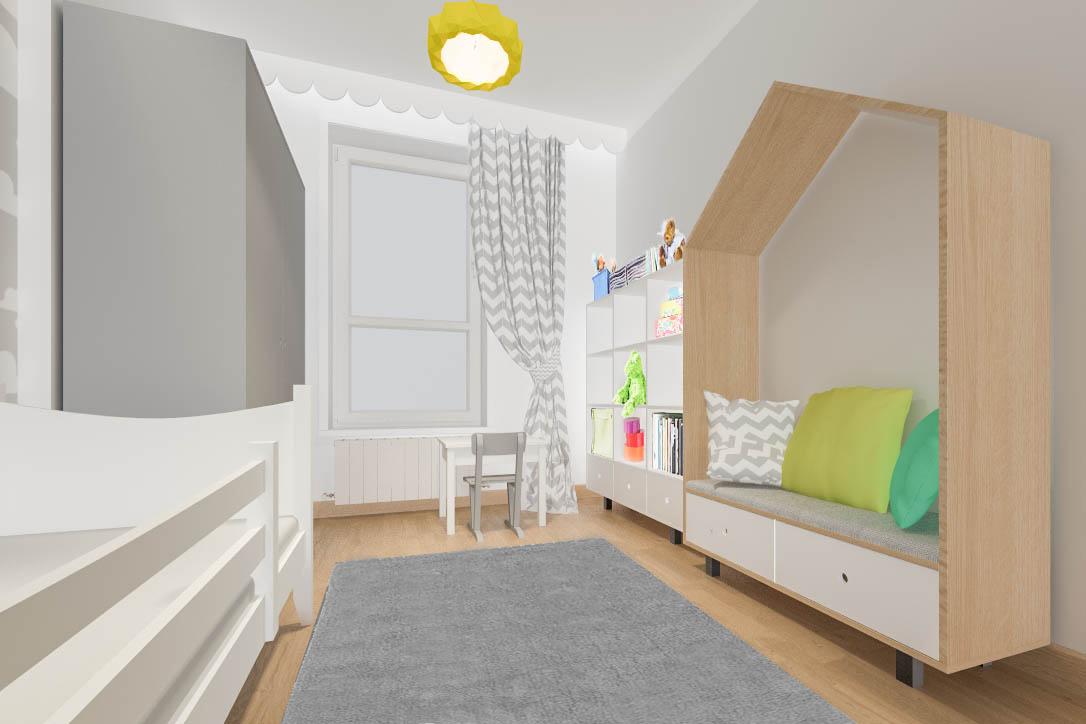 Make New Home Projekt Pokoju Dziecięcego