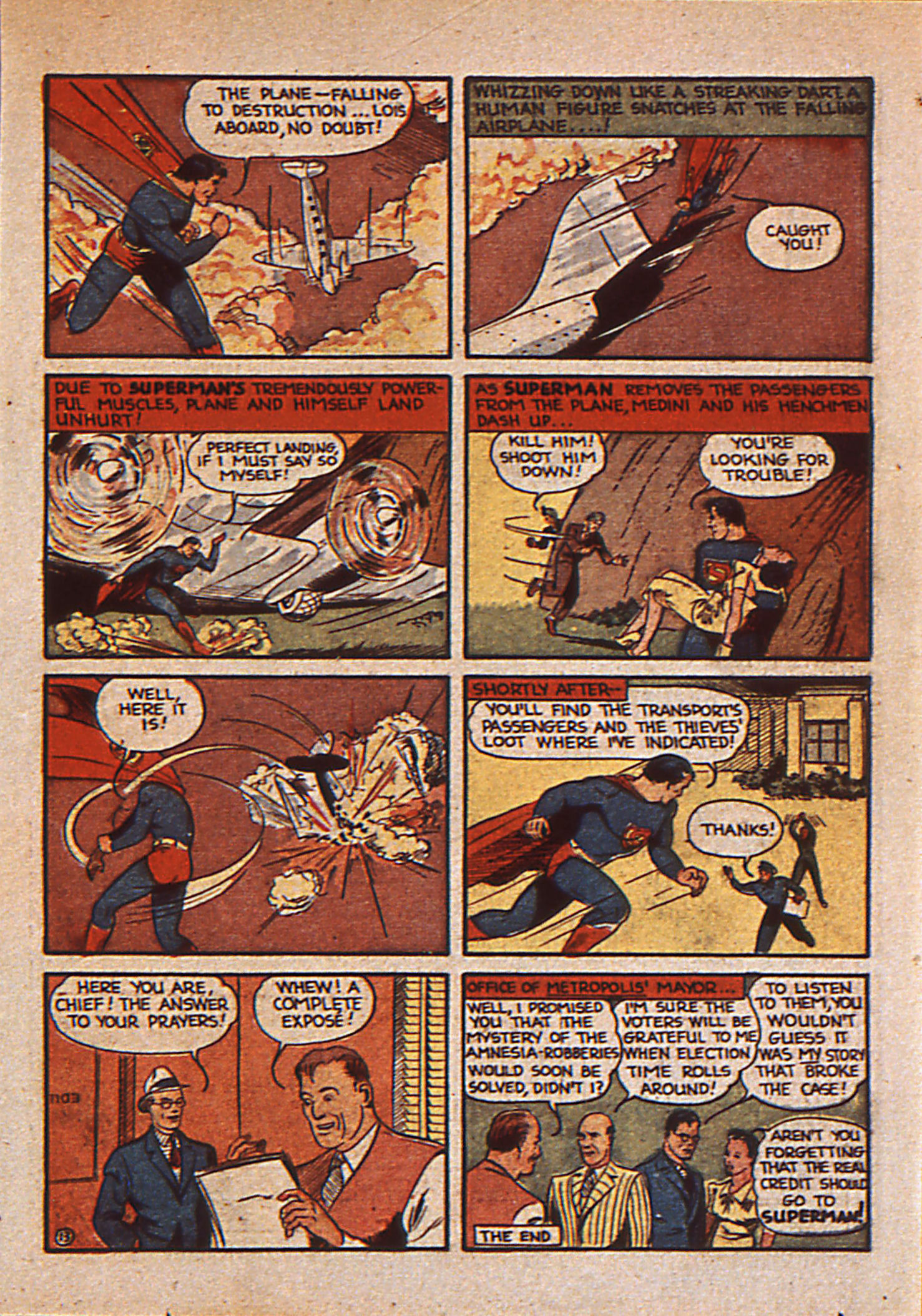 Read online Action Comics (1938) comic -  Issue #25 - 16