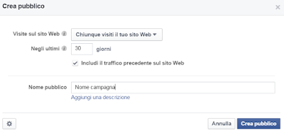 Come creare una campagna pubblicitaria con Facebook