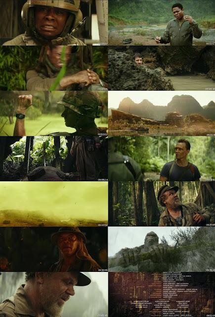 Kong Skull Island 2017 Dual Audio 720p HEVC 700MB [Hindi - English] BRRip x264