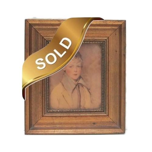 "Arthur Garratt's ""Peter"" Print - C. and A. Richards Boston Framed"