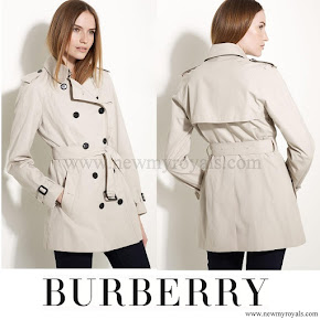 Queen Maxima wore Burberry London Trench Coats