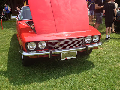 Jensen Interceptor Front and Grill