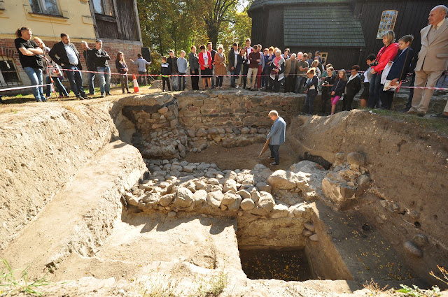 Wykopaliska archeologiczne w Gieczu