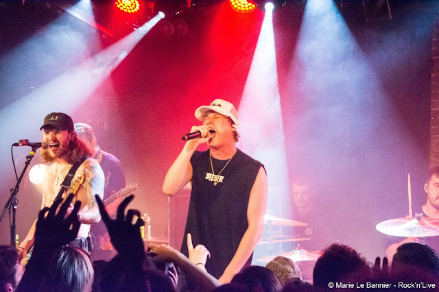 State Champs Secrets Elevated Living Proof Dead and Gone Paris Live Rock'n'Live Blog Maroquinerie Pop Punk Marie Le Bannier