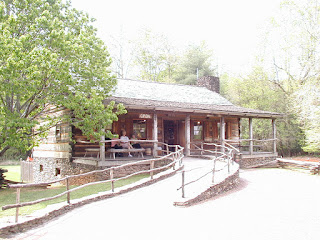 The Cades Cove Visitor Center at the Cable Mill Historic Area.