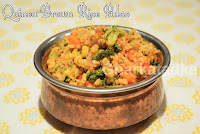 Quinoa Brown Rice Pulao
