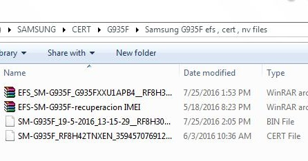 Samsung SM-G935F Cert,Efs,Nv File Free Download Without Password